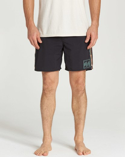 4 Atlas Jacquard Boardshorts Black M136TBAJ Billabong
