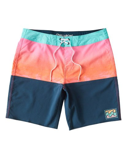 0 Fifty50 Fade Pro Boardshorts Brown M136VBFF Billabong