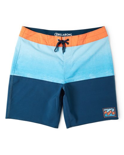 0 Fifty50 Fade Pro Boardshorts Blue M136VBFF Billabong