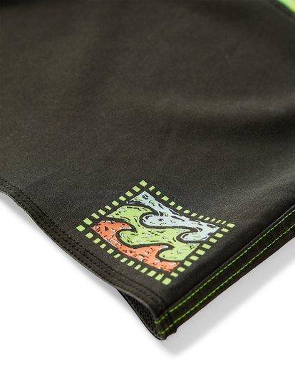 6 Fifty50 Fade Pro Boardshorts Green M136VBFF Billabong