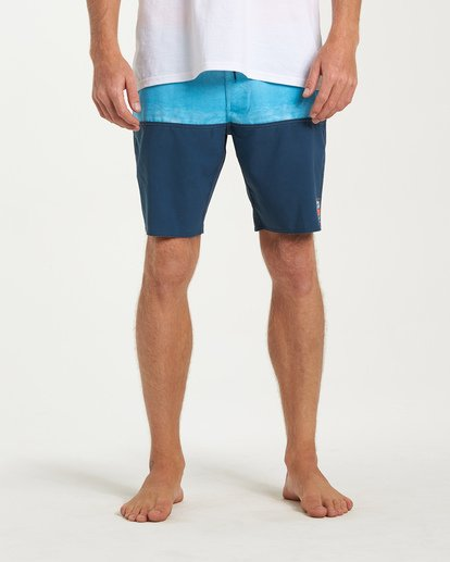 6 Fifty50 Fade Pro Boardshorts Blue M136VBFF Billabong