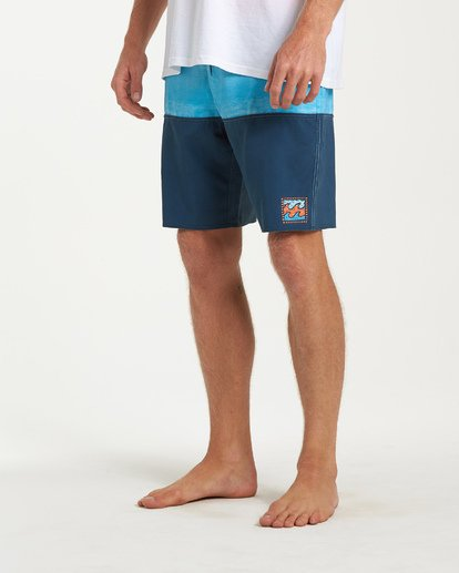 7 Fifty50 Fade Pro Boardshorts Blue M136VBFF Billabong