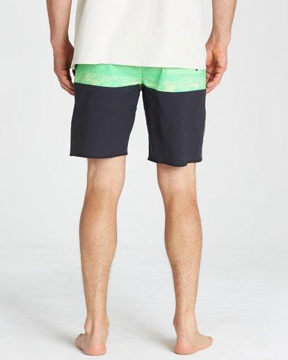 10 Fifty50 Fade Pro Boardshorts Green M136VBFF Billabong