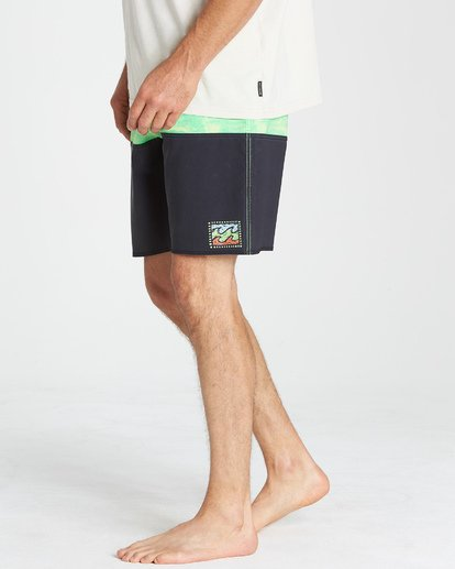 9 Fifty50 Fade Pro Boardshorts Green M136VBFF Billabong