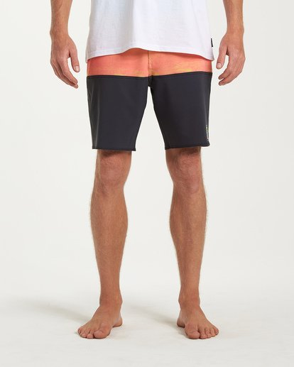 6 Fifty50 Fade Pro Boardshorts Orange M136VBFF Billabong
