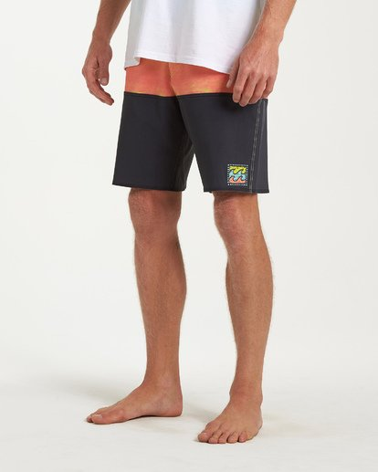 7 Fifty50 Fade Pro Boardshorts Orange M136VBFF Billabong