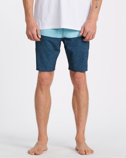 0 Tribong Lo Tides Boardshorts Blue M1371BTL Billabong