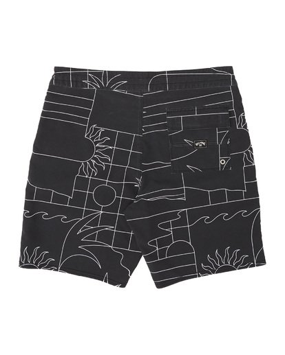 1 Sundays Lo Tides Boardshorts Black M1381BSL Billabong