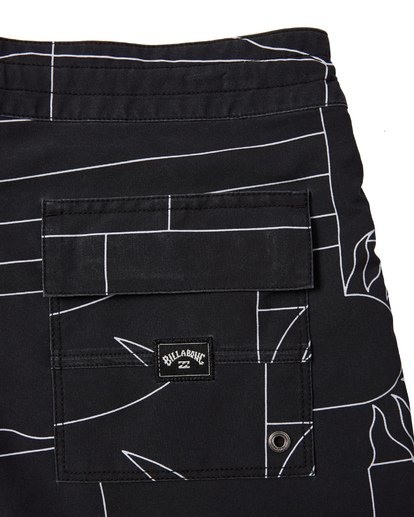 6 Sundays Lo Tides Boardshorts Black M1381BSL Billabong