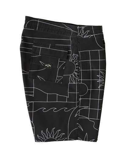 3 Sundays Lo Tides Boardshorts Black M1381BSL Billabong