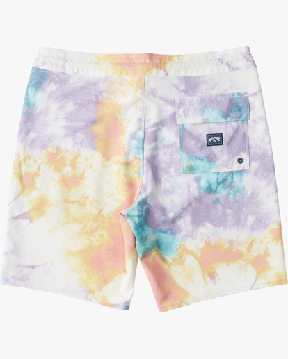 "1 Sundays Lo Tides Boardshort 19"" White M1381BSL Billabong"