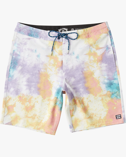 "0 Sundays Lo Tides Boardshort 19"" White M1381BSL Billabong"