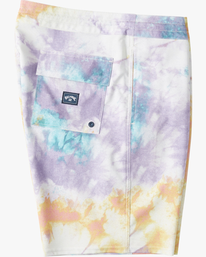"3 Sundays Lo Tides Boardshort 19"" White M1381BSL Billabong"