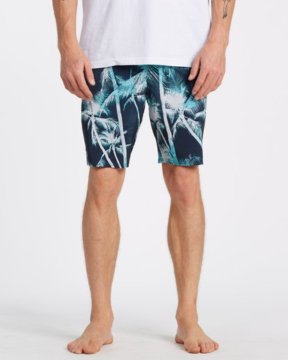 2 Sundays Lo Tides Boardshorts Blue M1381BSL Billabong