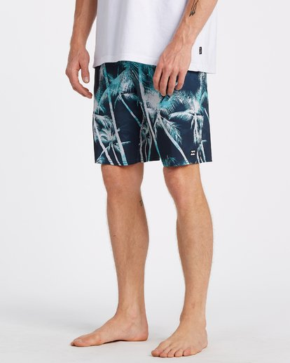 "3 Sundays Lo Tides Boardshort 19"" Blue M1381BSL Billabong"