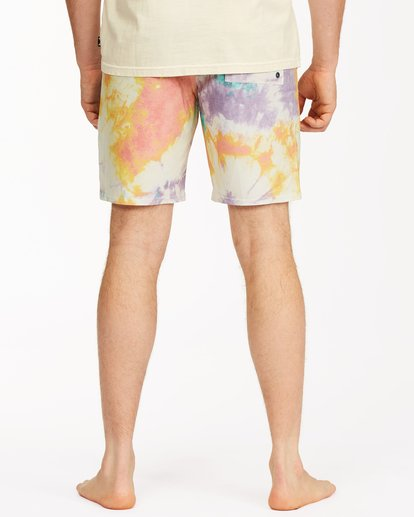 "7 Sundays Lo Tides Boardshort 19"" White M1381BSL Billabong"