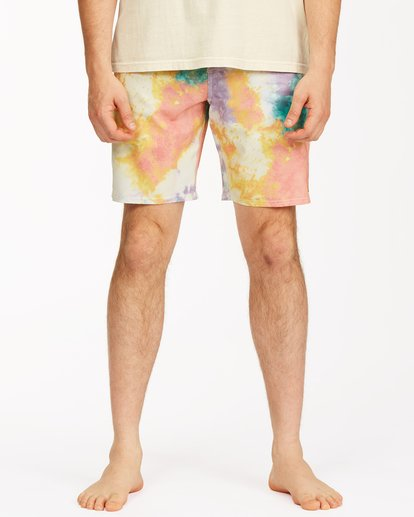 "4 Sundays Lo Tides Boardshort 19"" White M1381BSL Billabong"