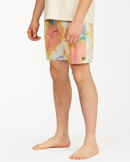 "5 Sundays Lo Tides Boardshort 19"" White M1381BSL Billabong"
