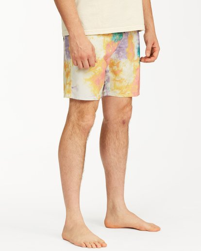 "6 Sundays Lo Tides Boardshort 19"" White M1381BSL Billabong"