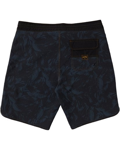"1 73 Lo Tides Boardshort 19"" Black M1391BSL Billabong"