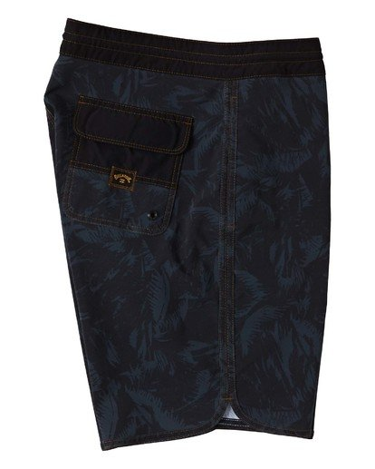 "3 73 Lo Tides Boardshort 19"" Black M1391BSL Billabong"