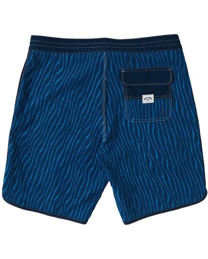 """1 73 Lo Tides Boardshorts 19"""" Blue M1391BSL Billabong"""
