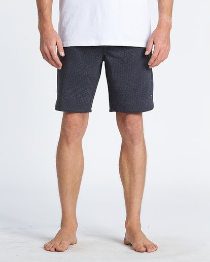 7 73 Lo Tides Boardshorts Black M1391BSL Billabong