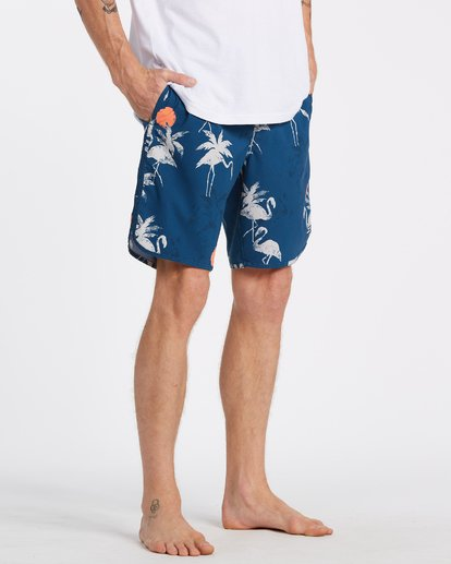 6 73 Lo Tides Boardshorts Blue M1391BSL Billabong
