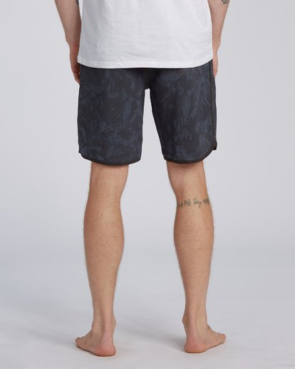 "7 73 Lo Tides Boardshort 19"" Black M1391BSL Billabong"