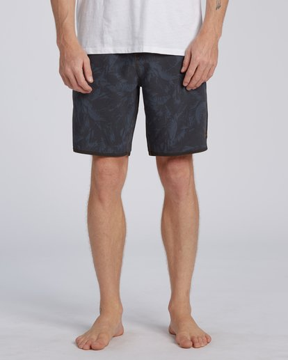 "4 73 Lo Tides Boardshort 19"" Black M1391BSL Billabong"