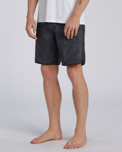 "6 73 Lo Tides Boardshort 19"" Black M1391BSL Billabong"