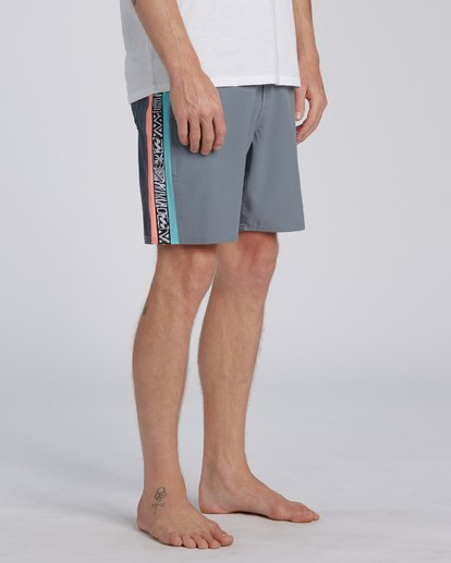 5 Dbah Lo Tide Boardshorts Grey M1403BDL Billabong