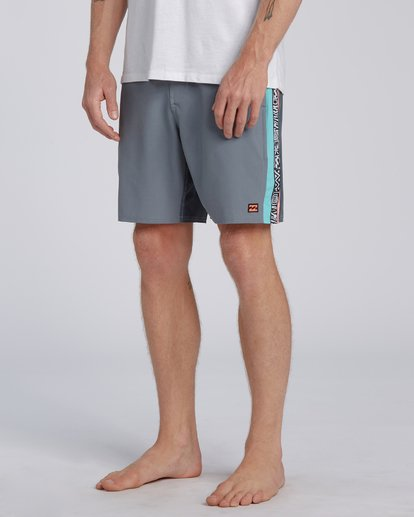 6 Dbah Lo Tide Boardshorts Grey M1403BDL Billabong