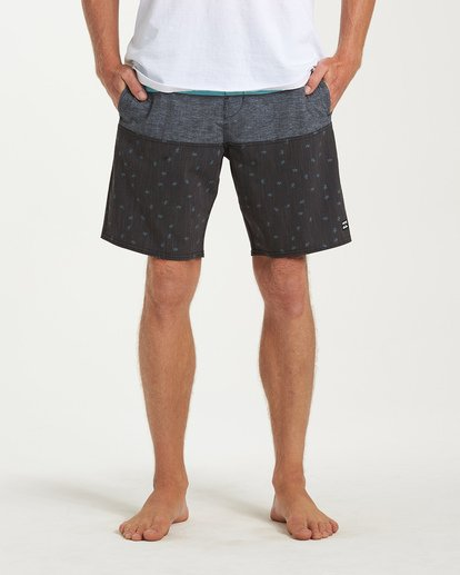 6 Tribong LT Boardshorts Black M140TBTB Billabong