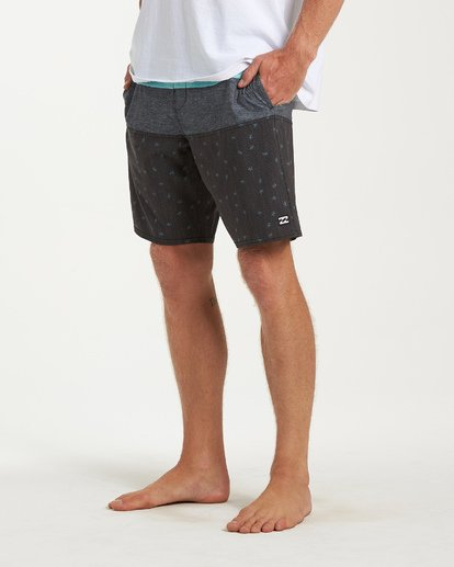 7 Tribong LT Boardshorts Black M140TBTB Billabong