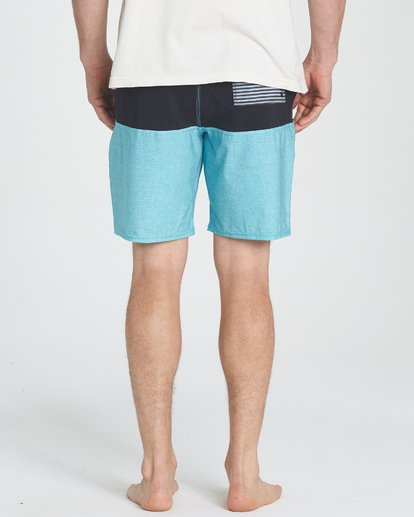 7 Tribong LT Boardshorts Blue M140TBTB Billabong