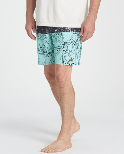 9 Fifty50 LT Boardshorts Blue M141TBFI Billabong