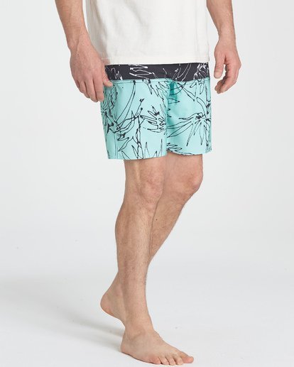10 Fifty50 LT Boardshorts Blue M141TBFI Billabong