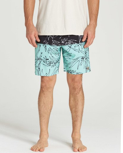 12 Fifty50 LT Boardshorts Blue M141TBFI Billabong