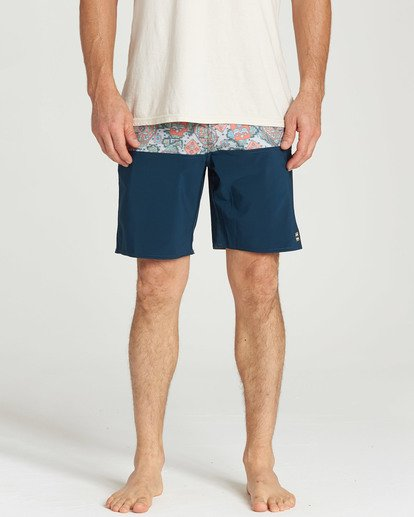4 Fifty50 LT Boardshorts Blue M141TBFI Billabong