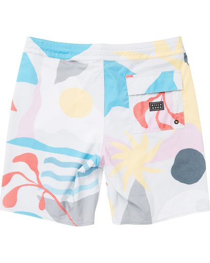 1 Sundays Lo Tides Boardshorts Grey M142NBSU Billabong