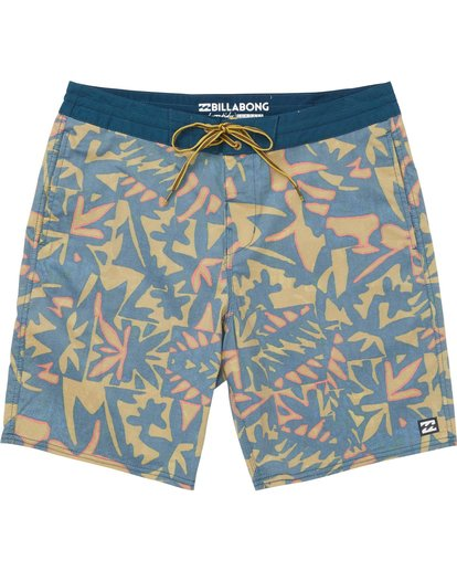 0 Sundays Lo Tides Boardshorts Yellow M142NBSU Billabong
