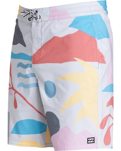 2 Sundays Lo Tides Boardshorts Grey M142NBSU Billabong