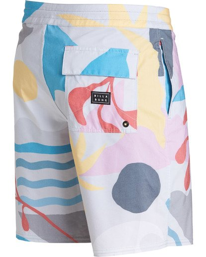 3 Sundays Lo Tides Boardshorts Grey M142NBSU Billabong