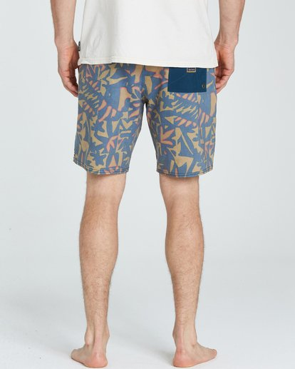 4 Sundays Lo Tides Boardshorts Yellow M142NBSU Billabong