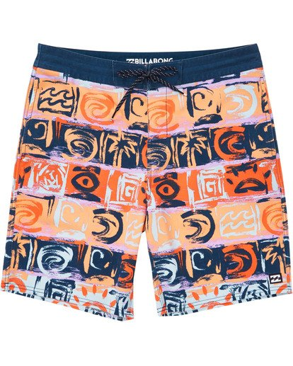 0 Sundays LT Boardshorts Orange M142TBSU Billabong