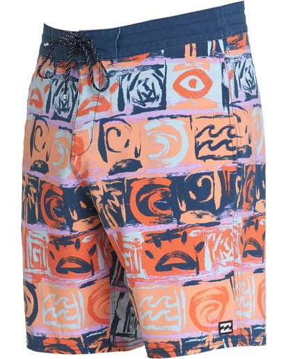1 Sundays LT Boardshorts Orange M142TBSU Billabong