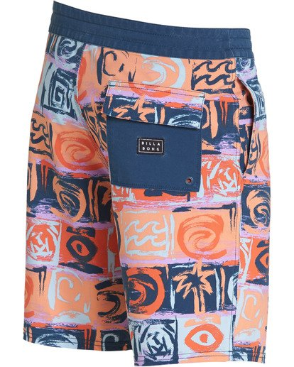 2 Sundays LT Boardshorts Orange M142TBSU Billabong