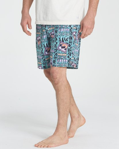 3 Sundays LT Boardshorts Blue M142TBSU Billabong