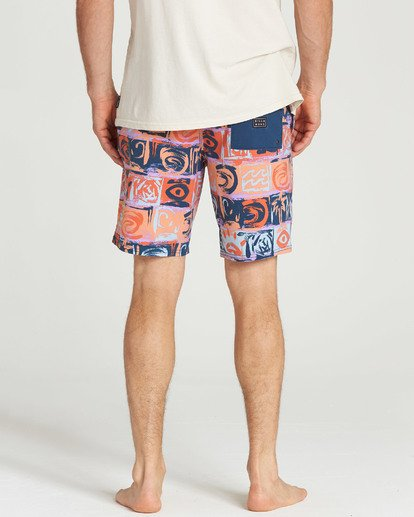 4 Sundays LT Boardshorts Orange M142TBSU Billabong